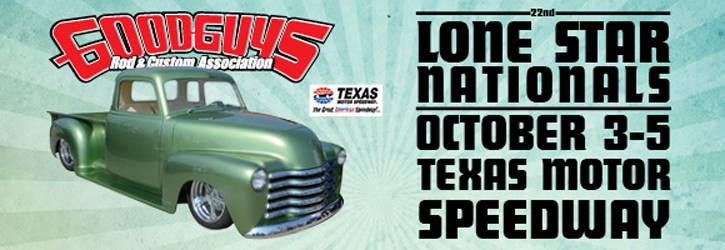 Goodguys 22nd lone star nationals bfgoodrich racing for Lone star motors fort worth tx