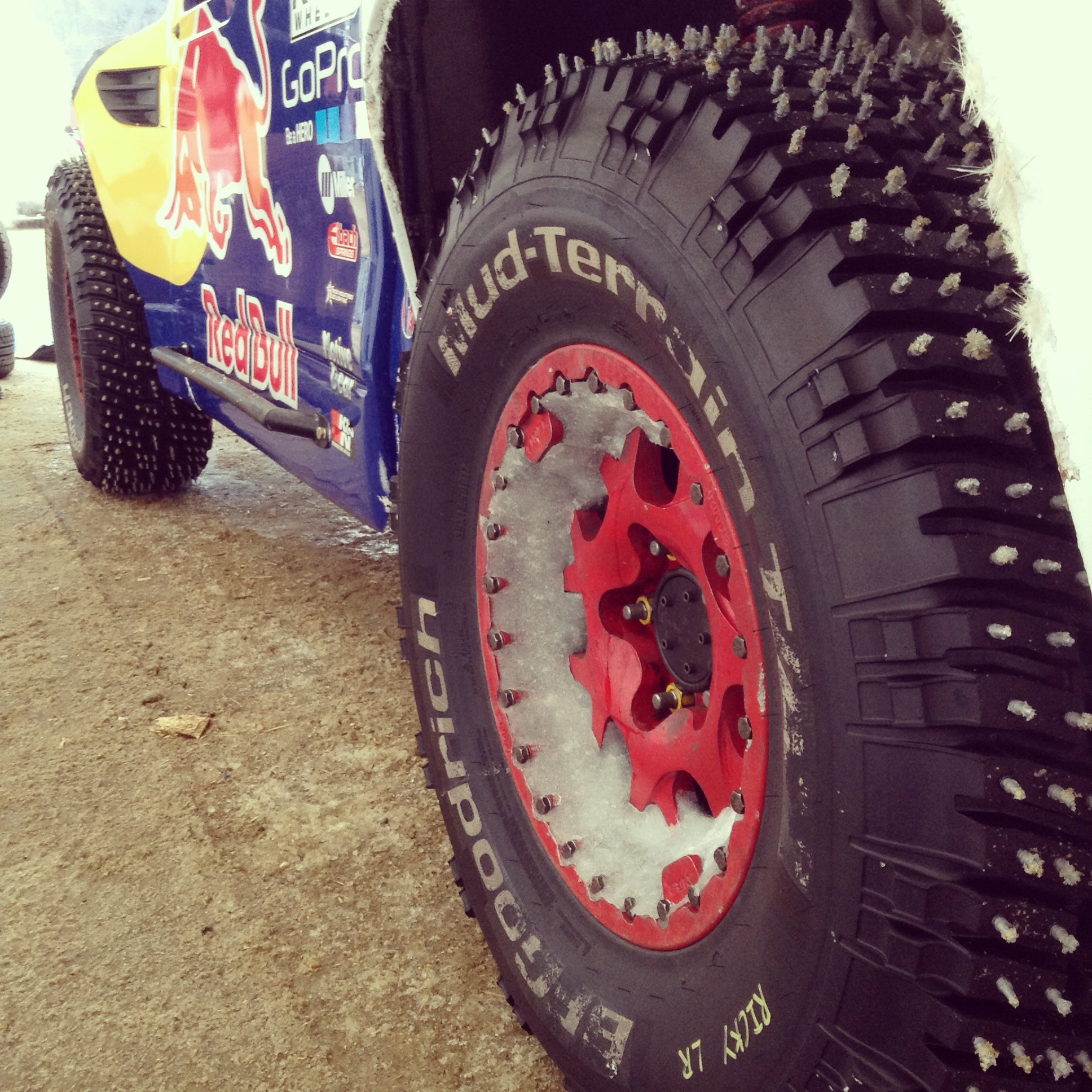 bfgoodrich tires prepared to conquer snow at red bull frozen rush bfgoodrich racing. Black Bedroom Furniture Sets. Home Design Ideas