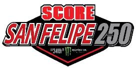 SCORE San Felipe 250 - 2020 @ San Felipe, Baja California, Mexico
